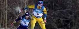 Reservbetonat svenskt lag  imponerade i mixedstafett