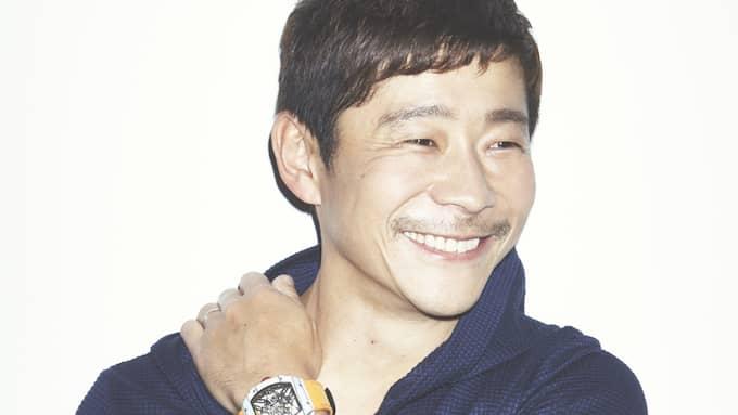 Köparen, den japanske konstsamlaren Yusaku Maezawa. Foto: SOTHEBY'S / POLARIS