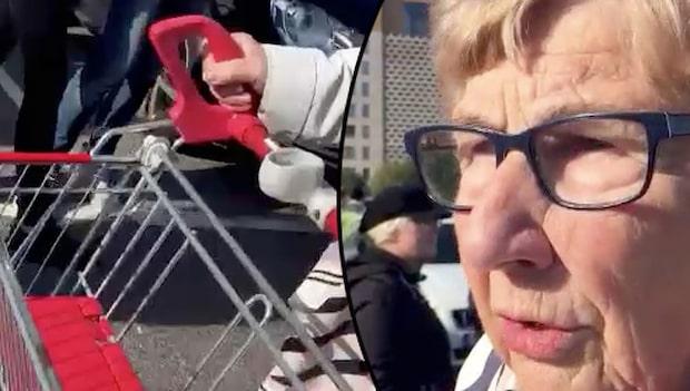 Ingegerd, 83, plöjde genom nazisterna – med kundvagn