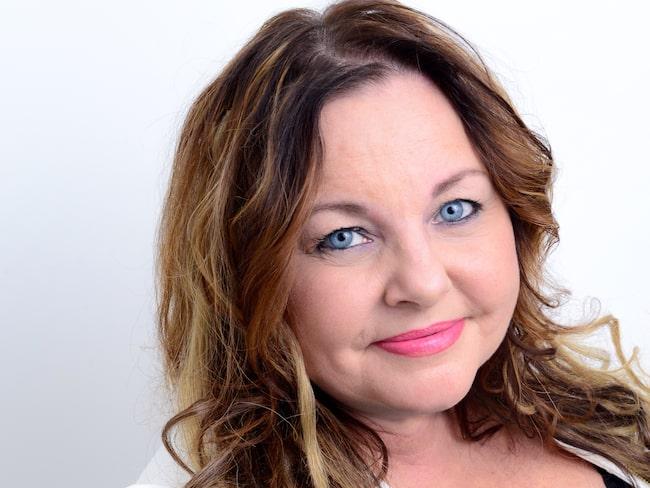 Annica Joensuu, hudterapeut och ordförande för Svenska Hudterapeuters Riksorganisation.