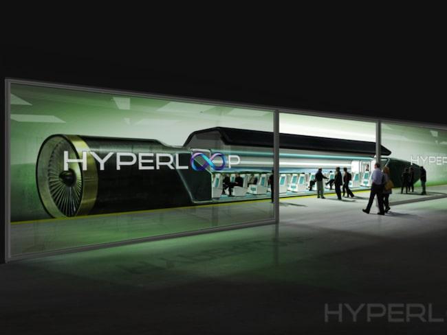 I framtiden ska kapslarna kunna ta passagerare blixtsnabbt mellan olika länder.
