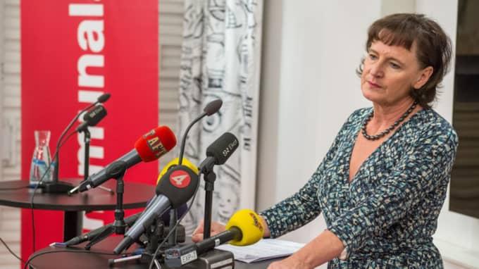 Margot Wallström fick en lägenhet av Kommunal i Stockholms innerstad. Kommunals ordförande har tidigare sagt att Margot Wallström inte har gått före i kön. Foto: Pelle T Nilsson