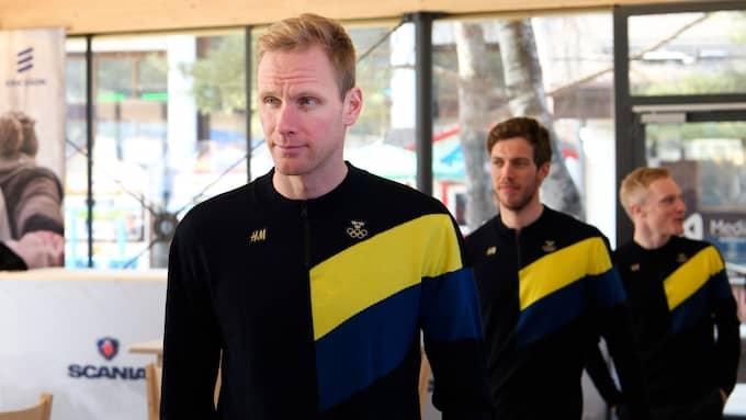 Rickardsson, Hellner och Burman. Foto: CARL SANDIN / BILDBYRÅN