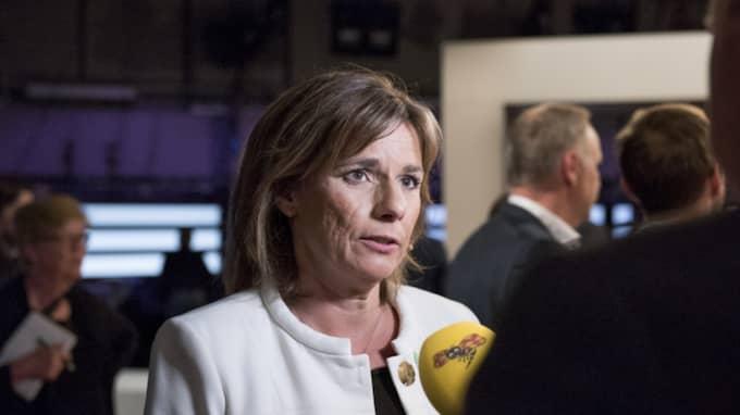 Språkröret och regeringens klimatminister, Isabella Lövin Foto: Ann Jonasson