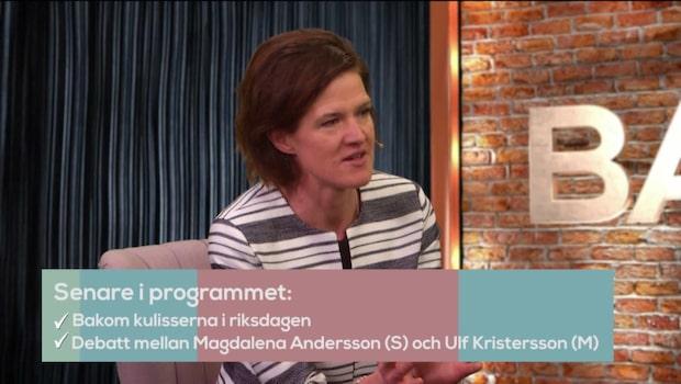 Bara politik: Kinberg Batra stänger dörren för Lööf