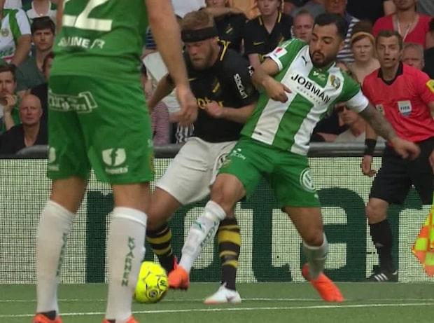 Här frälser Elyounoussi AIK-fansen i derbyt