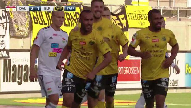 Issam Jebali nickar vackert in ledningen för Elfsborg