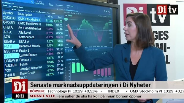 Marknadskoll: Northvolt gör jätteemission