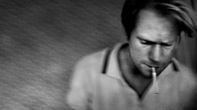 """Per Hagman, författare till """"Cigarett"""", 2004. Foto: PIETER TEN HOOPEN"""