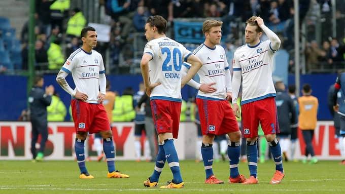 Nabil Bahoui har bara spelat i en match i Bundesliga för Hamburg den här säsongen. Foto: IMAGO SPORTFOTODIENST