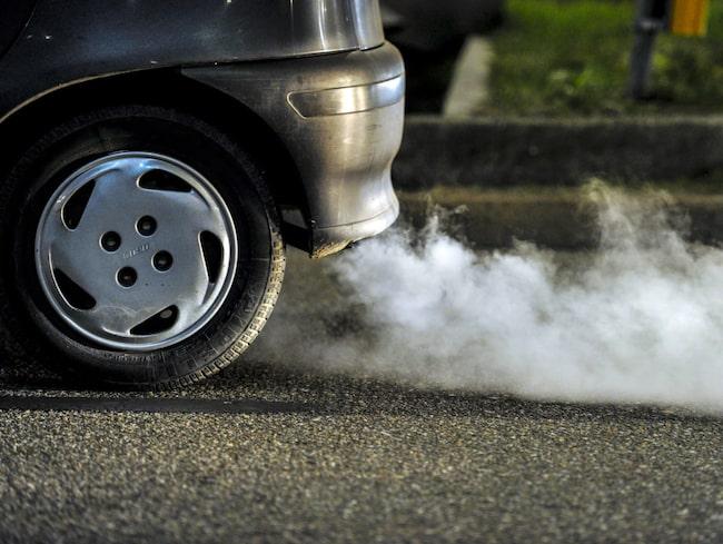 50 mils utsläpp – på bara 30 sekunder vid en kallstart.