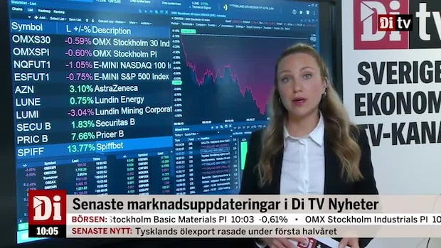 Di Marknadskoll - Astra Zeneca i topp efter rapport