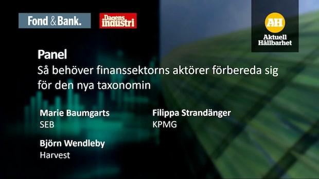 Så behöver finanssektorns aktörer förbereda sig för den nya taxonomin