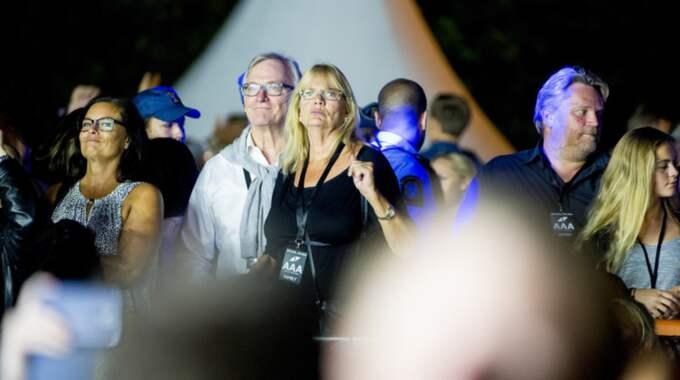 """Tim """"Avicii"""" Berglings föräldrar Klas Bergling och Anki Lidén fanns i publiken. Foto: Alex Ljungdahl"""