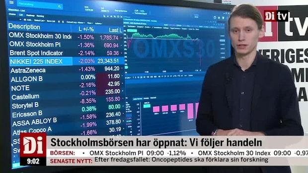 Marknadskoll: Börsen ner - oljepriset faller