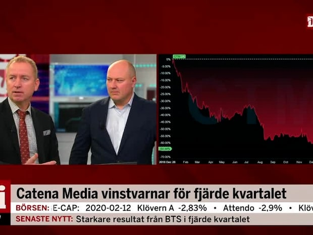 Catena Media vinstvarnar för fjärde kvartalet