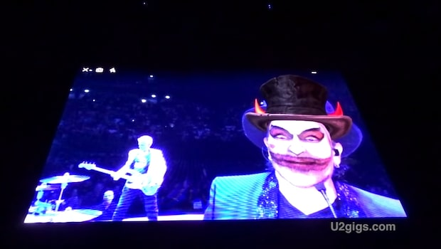 U2:s Bono hånar Jimmie Åkesson på valnatten