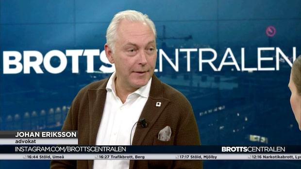 Johan Eriksson: Låter billigt – förstår att anhöriga reagerar