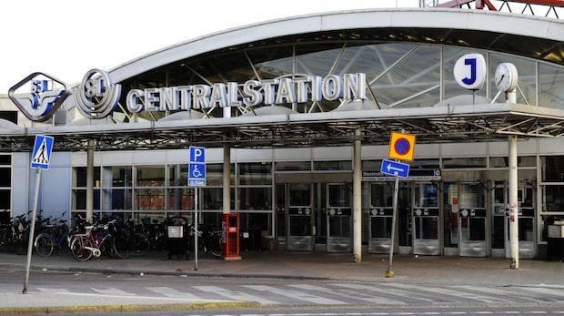 Tågstopp till och från Stockholm central