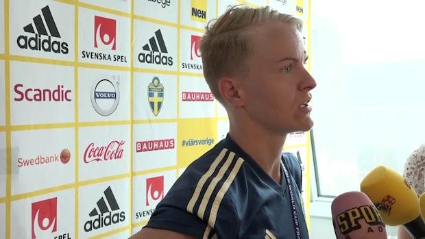 """Nilla Fischer: """"Fullt fokus på att vinna matchen"""""""
