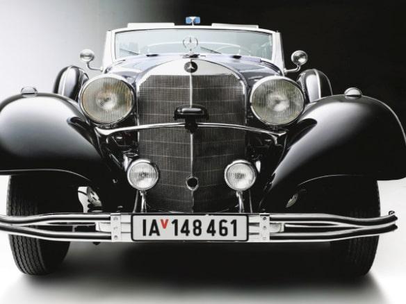 Adolf Hitlers gamla Mercedes-Benz 770K Grosser Offener Tourenwagen ska auktioneras ut nästa år.