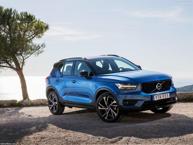 Volvos nya suv fick inte flest röster i Sverige, men väl i många andra stora billänder.