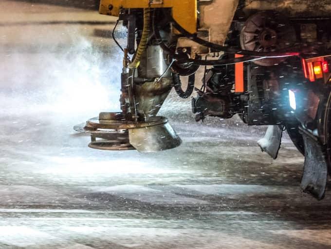 """""""Det är vinterväglag i hela landet"""", säger Roger Falk, presskommunikatör på Trafikverket. Foto: Pelle T Nilsson"""