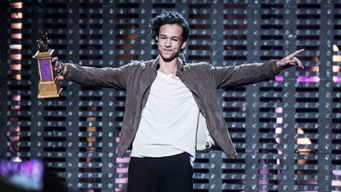 Frans Jeppsson-Wall ska ta Sverige till en ny vinst i Eurovision Song Contest. Foto: Olle Sporrong