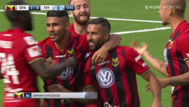 Magisk inledning för Östersunds FK – tre mål på elva minuter