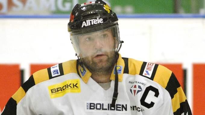 Mikael Renberg, lagkapten i Skellefteå 2007 Foto: JAN DÜSING