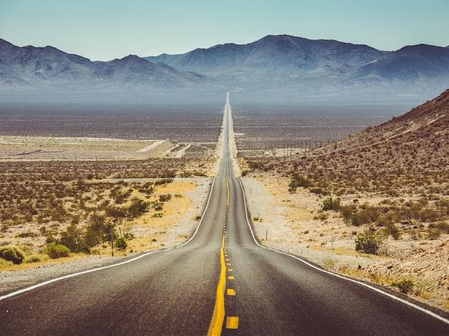 Värmerekordet i Death Valley är plus 56,7 grader. Det noterades sommaren 1913.