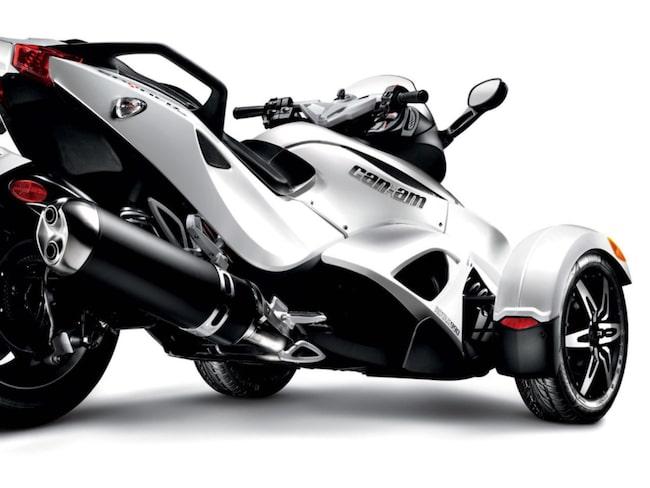 Kommer de trehjuliga motorcyklarna att ta över?