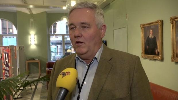 """""""Det är inte borgerlig politik"""" - Anders W Jonsson (C) om finansutskottets budget"""