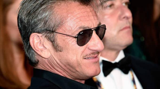 Ingen mindre än Sean Penn är det som intervjuar El Chapo. Foto: Clemens Bilan