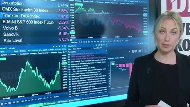 Marknadskoll: Börsen fortsatt negativ - 1.54 mln nyanmälda arbetslösa i USA