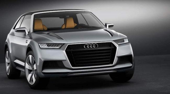 KONCEPT. Förra året visade Audi upp konceptbilen Crosslane Coupé, nu bekräftas en ny instegsversion i Q-familjen;Q1.