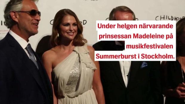 """Prinsessan Madeleines hyllning till Avicii: """"Vi minns"""""""