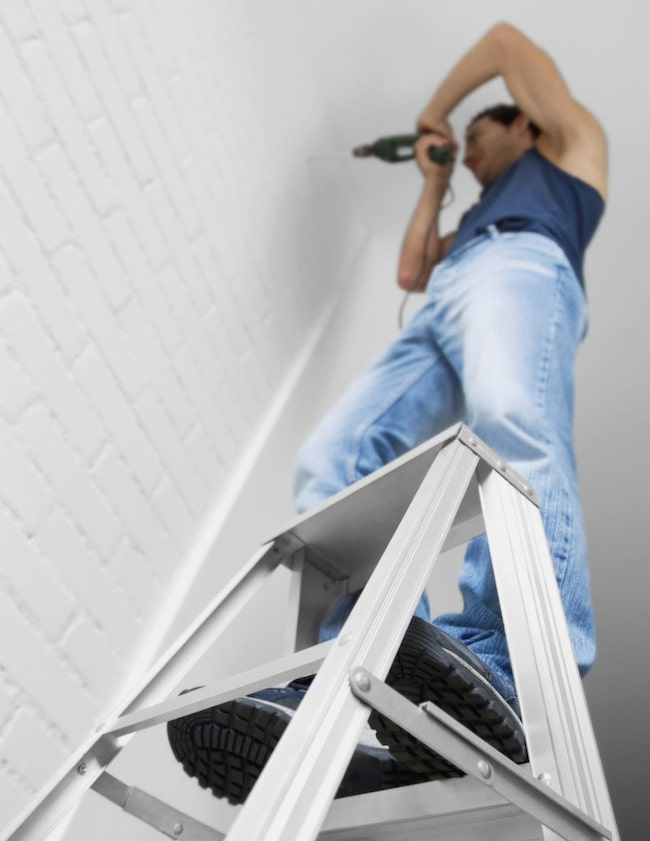 Så borrar du på rätt sätt i dina väggar Leva& bo Expressen Leva& bo