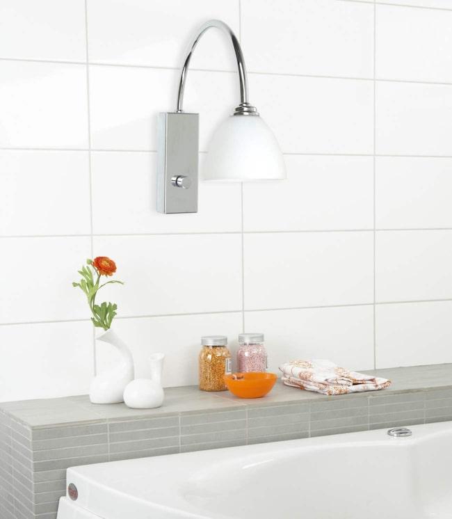 Kanske är det här något du skulle vilja ha som lite mysigare belysning i badrummet?