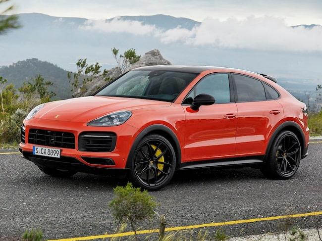 Nu kommer Porsche Cayenne Coupé.
