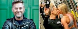 Niclas Wahlgrens intima bild – med nya kärleken