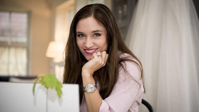 Johanna sa upp sig och startade eget - som bröllopskoordinator. Hon har arrangerat en rad kändisbröllop och driver nu sin verksamhet från Höllviken. Foto: TOMAS LEPRINCE