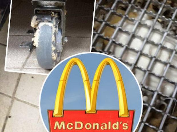 Här avslöjas snusket inne på två Mcdonalds-restauranger i Skövde