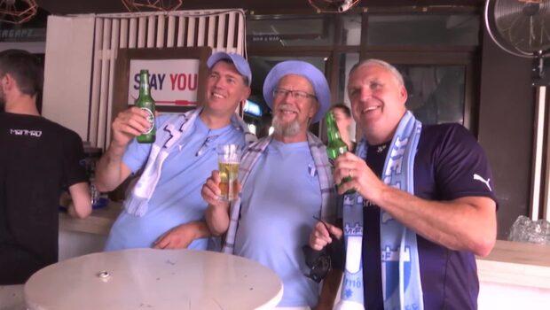"""MFF-supporterns löfte: """"Vi kommer sjunga bra allihopa!"""""""