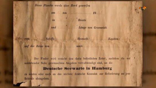 Hittade världens äldsta flaskpost – från 1886