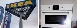 Gerd, 62, anmäler mikrovågsugn  från Ikea –
