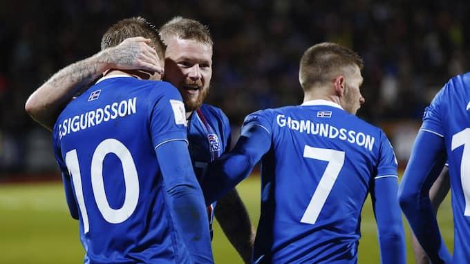 Foto: BRYNJAR GUNNASRSON / AP TT NYHETSBYRÅN
