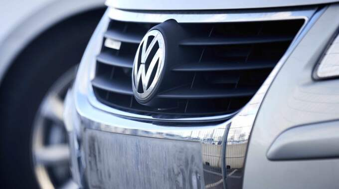 Dieselskandalen blir en kostsam affär för Volkswagen. Foto: Carsten Koall / Epa / Tt / EPA TT NYHETSBYRÅN