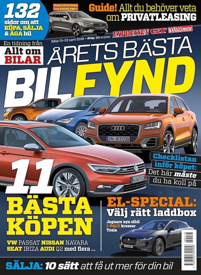 Årets bästa bilfynd – ute i butik 13 april.