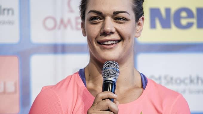 Sandra Perkovic. Foto: MARC FEMENIA/TT / TT NYHETSBYRÅN